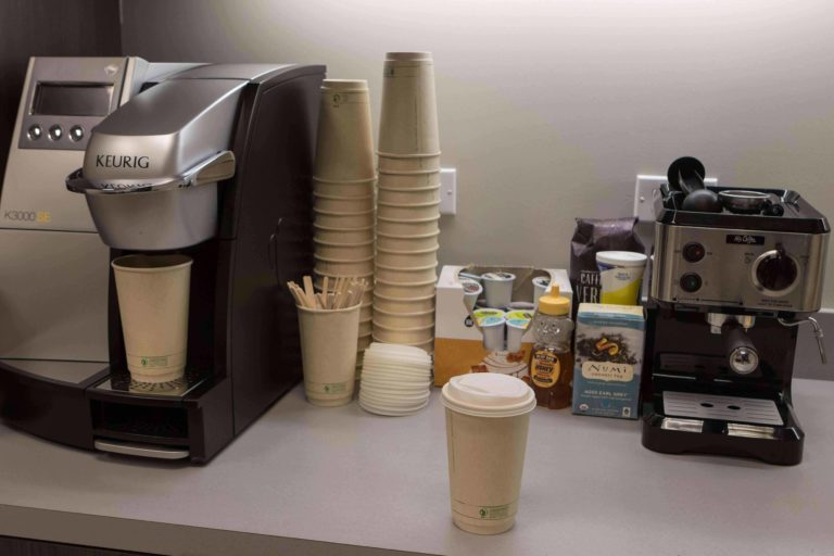 Certified coffee eco cup