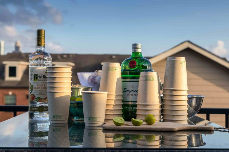 Eco cups for drinks