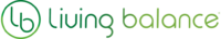 Living Balance Earth logo leaf