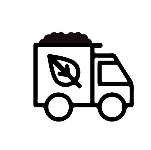 Fertilizer truck icon